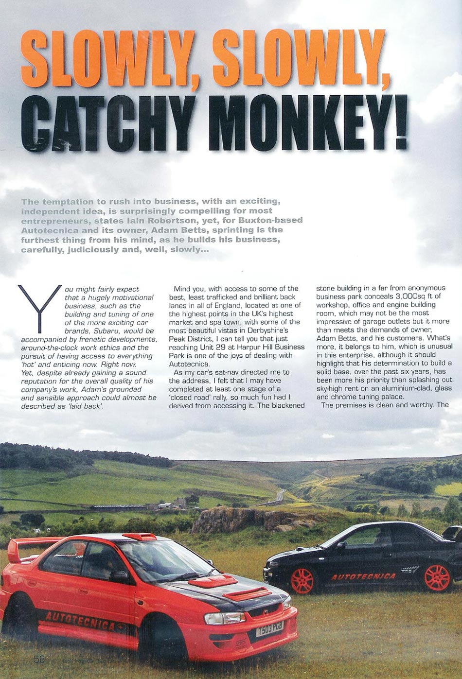 Slowly, Slowly, Catchy Monkey - Total Impreza Magazine